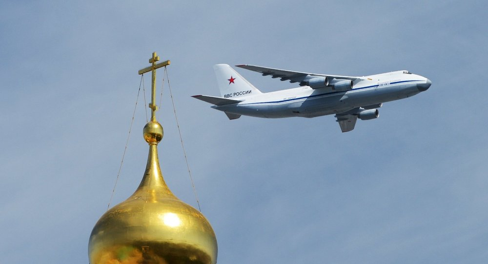 An Antonov An-124-100 Ruslan