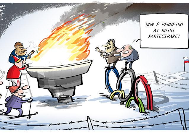 La Russia non parteciperà alle prossime Olimpiadi Invernali di PyeongChang 2018