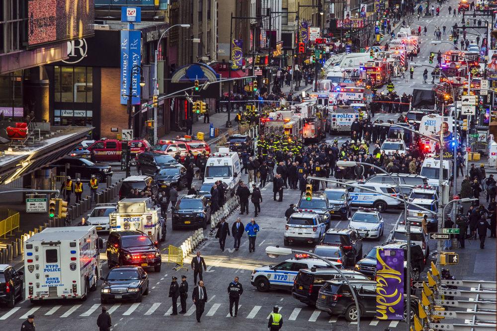 Dopo l'esplosione a New York.