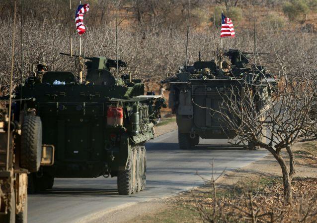 Le forze militari USA in Siria.