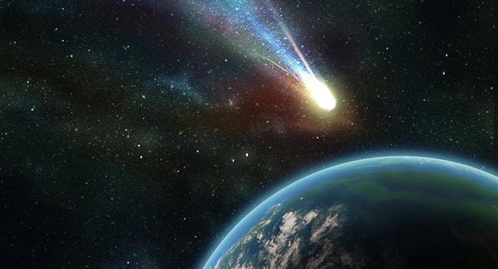 Un asteroide che passa vicino alla Terra