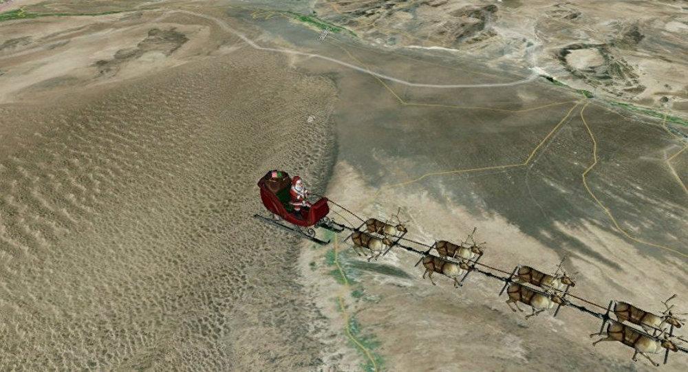 Babbo Natale acrobatico al Mercato Centrale