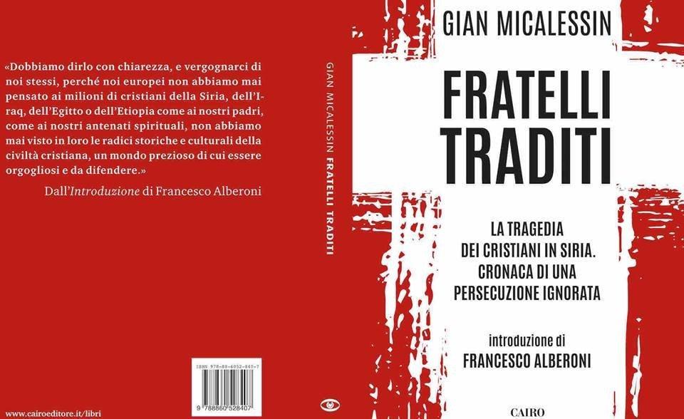 La copertina del libro Fratelli traditi da Gian Micalessin