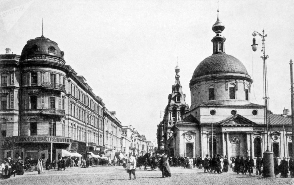 Mosca a confronto: 100 anni fa ed oggi