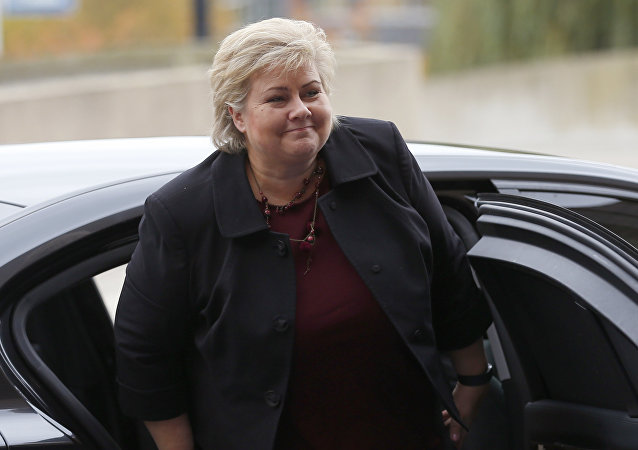 Premier norvegese Erna Solberg
