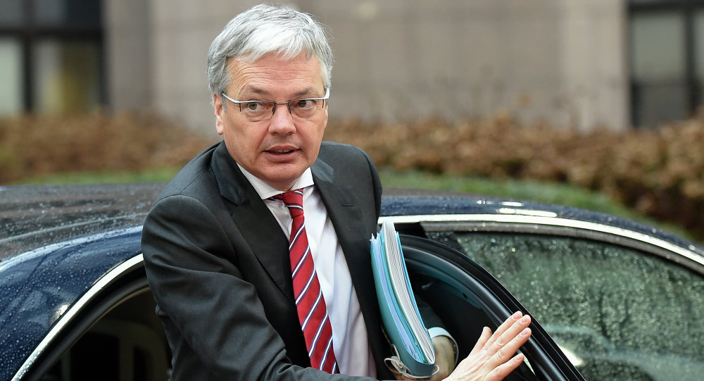 Didier Reynders, ministro Esteri Belgio