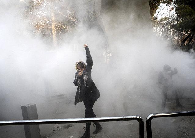 Teheran, le proteste contro il governo dell'Iran