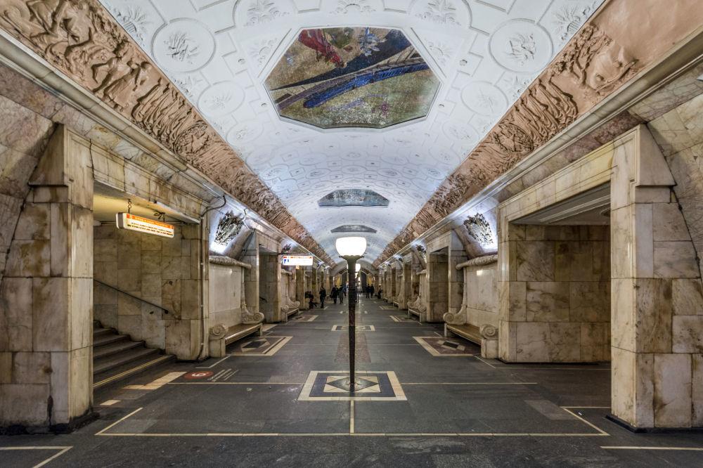 La Grande Bellezza della metro di Mosca