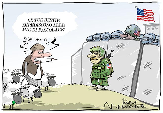 Base della difesa anti-missile USA in Romania minaccia un gregge di pecore