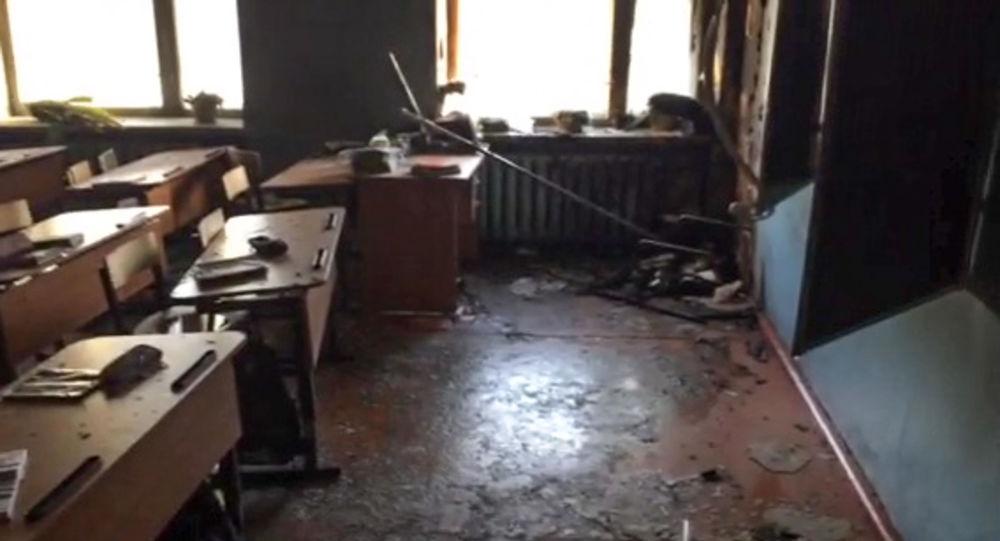 Scuola assaltata con molotov in Russia: 7 feriti