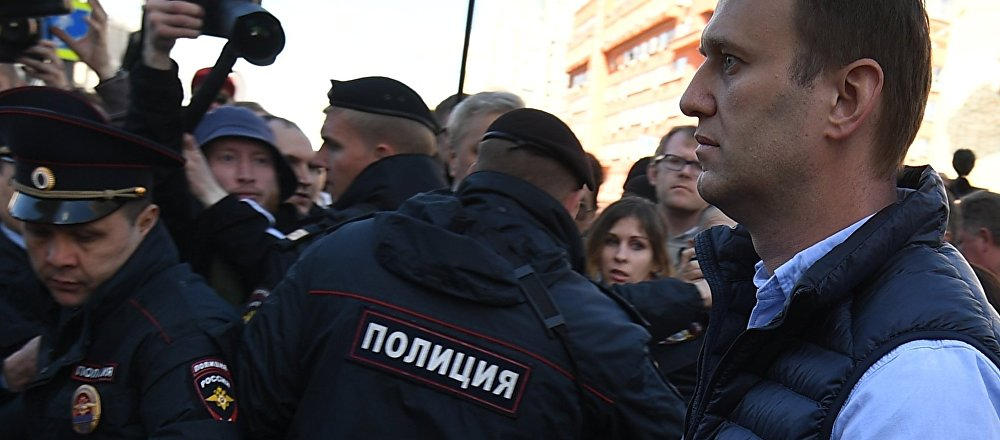 Alexei Navalny a una manifestazione (foto d'archivio)