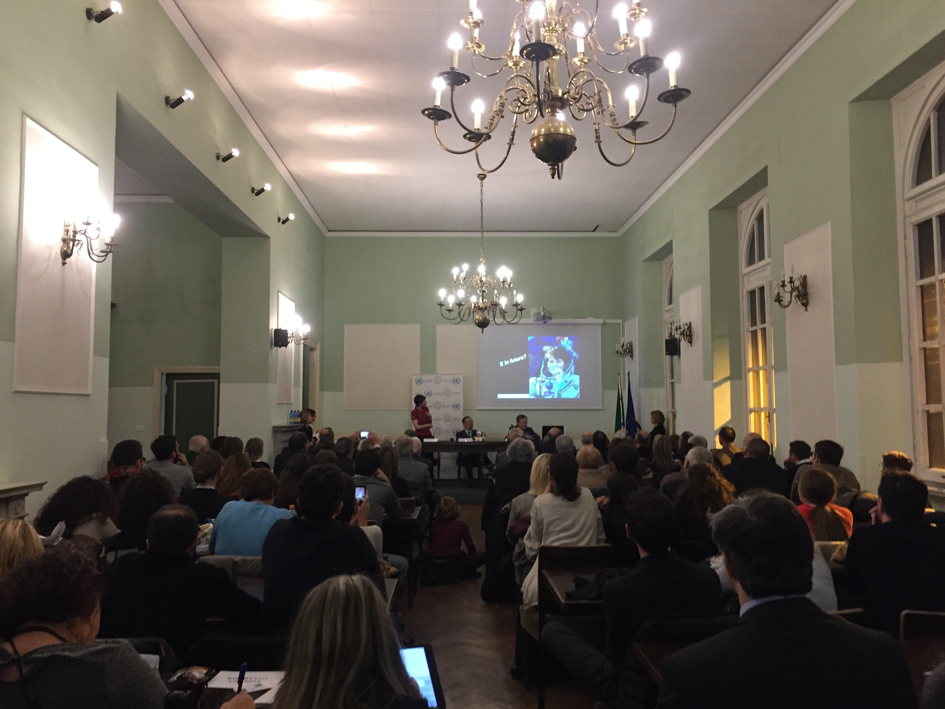 La presentazione della X edizione del Master in Istituzioni e politiche spaziali presso la Società Italiana per l'Organizzazione Internazionale (SIOI).
