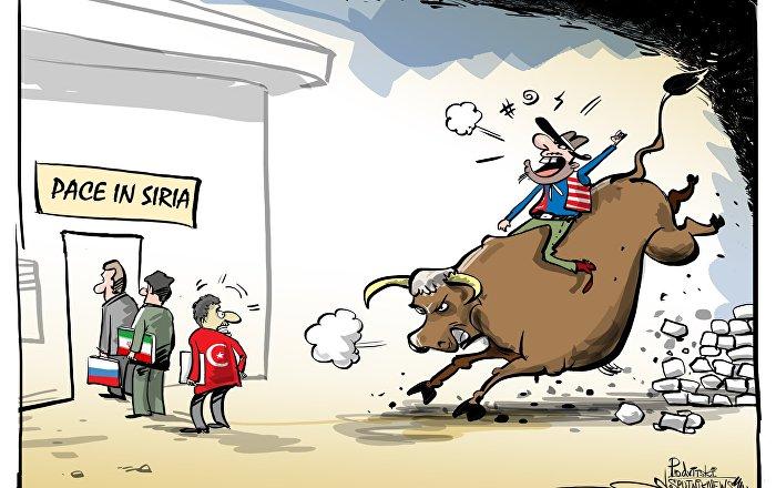 Gli Usa in Siria