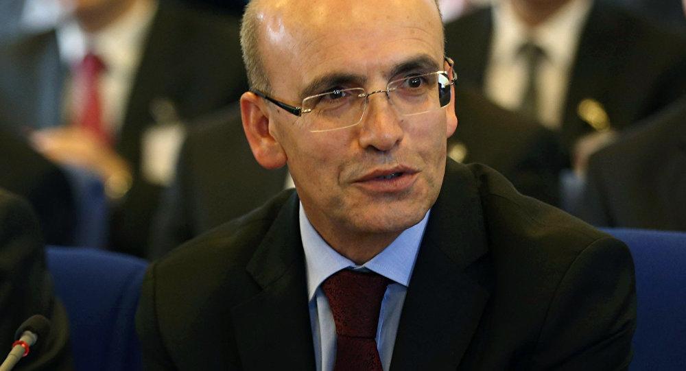 Vice premier turco Mehmet Shimshek