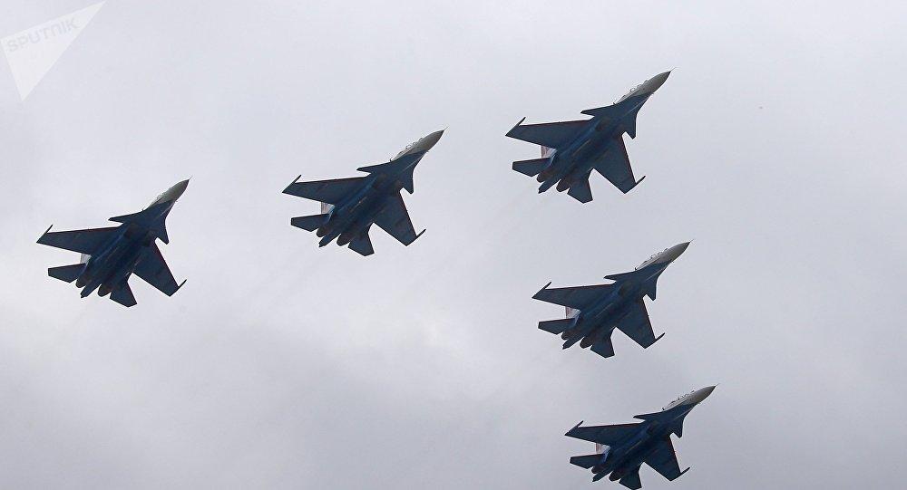 I Cavalieri Russi in volo