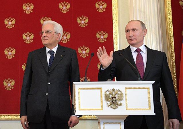 Putin e Mattarella