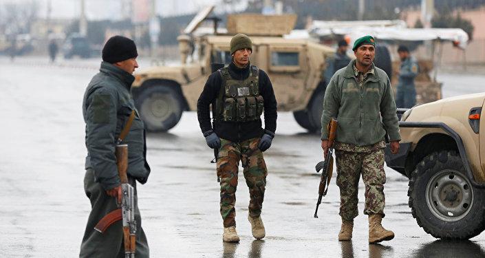 Militari afghani