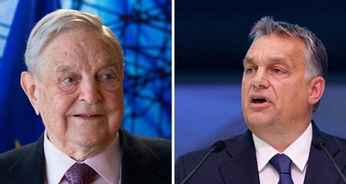 Orban e Soros