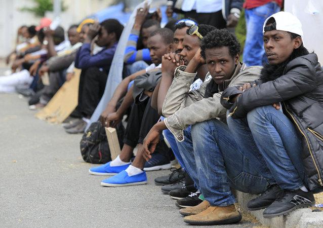 Migranti a Ventimiglia