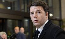 """Per Renzi, se questa legge elettorale non passa è l'idea stessa di Pd come motore del cambiamento dell'Italia che viene meno""""."""