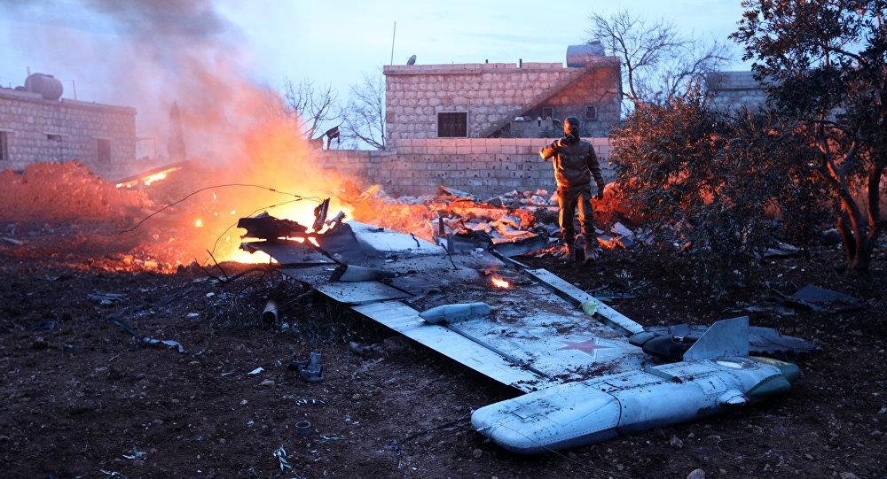 Su-25 abbattuto nella provincia di Idlib