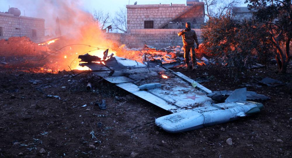 Caccia russo Su-25 abbattuto in Siria