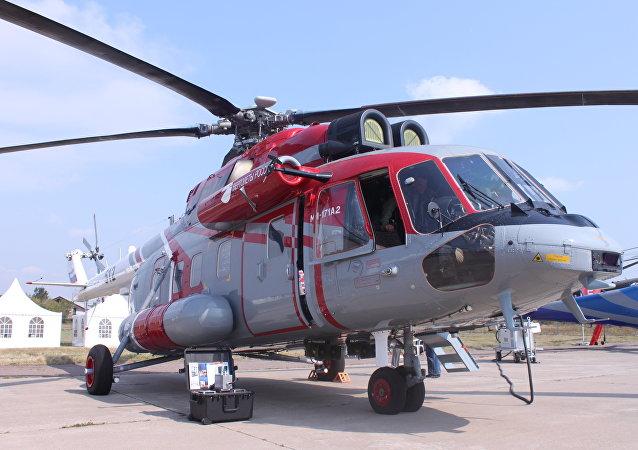 Elicottero Mi-171А2 equipaggiato per i lavori di ricerca e soccorso