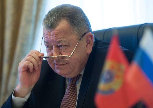 Il viceministro degli Esteri russo Oleg Syromolotov