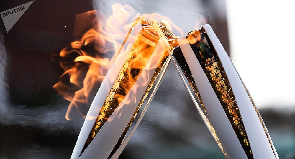 Il fuoco olimpico alle Olimpiadi 2018
