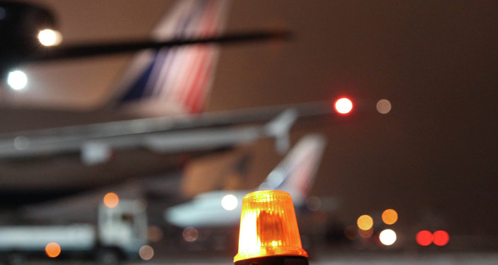 Planes at Domodedovo airport.