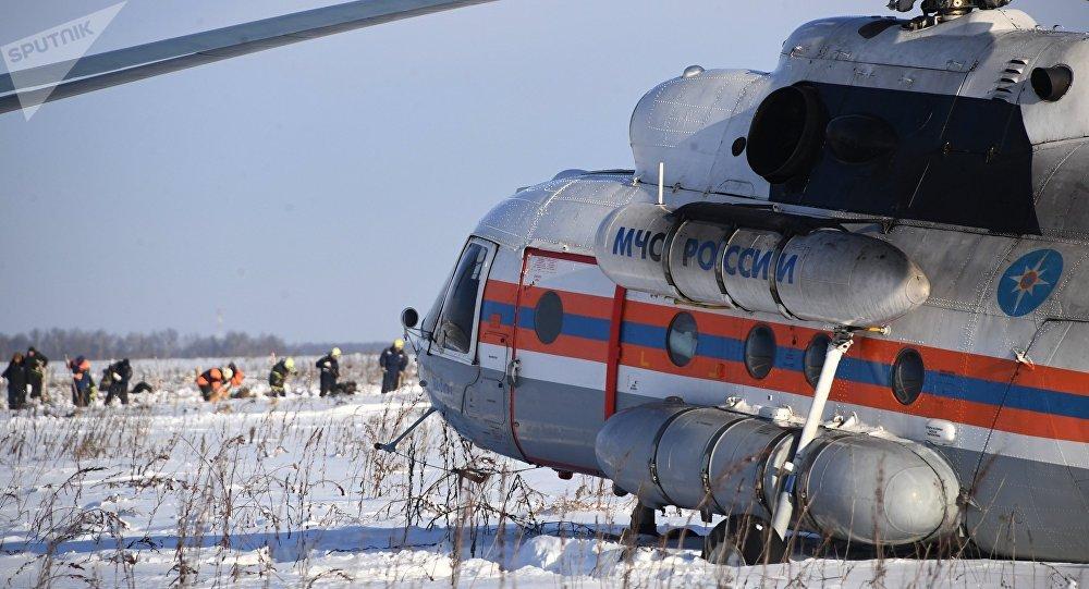 Russia, aereo caduto: trovata seconda scatola nera
