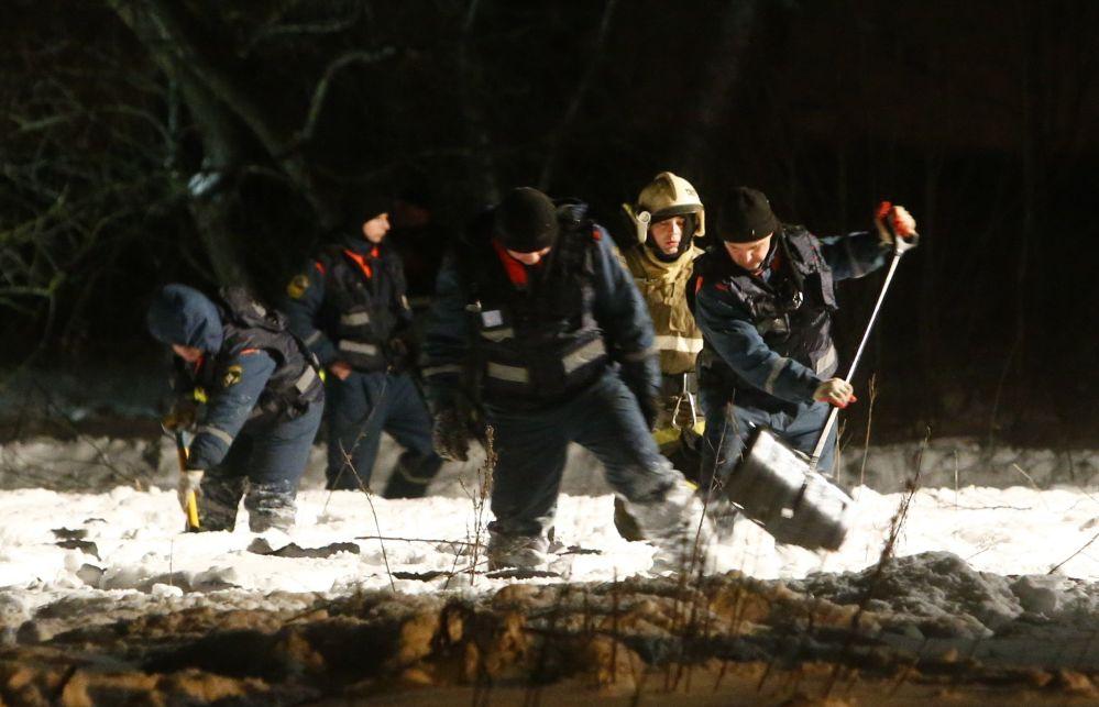 L'aereo è stato trovato in un campo nel distretto di Ramenskoye nella regione di Mosca.