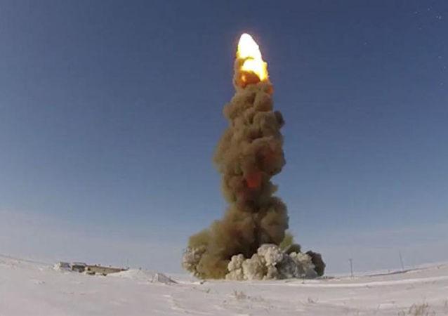 Test del nuovo missile intercettore russo