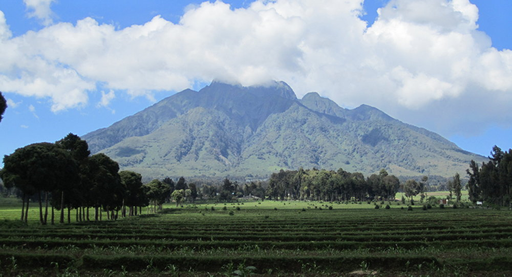 Il vulcano Raung, Indonesia