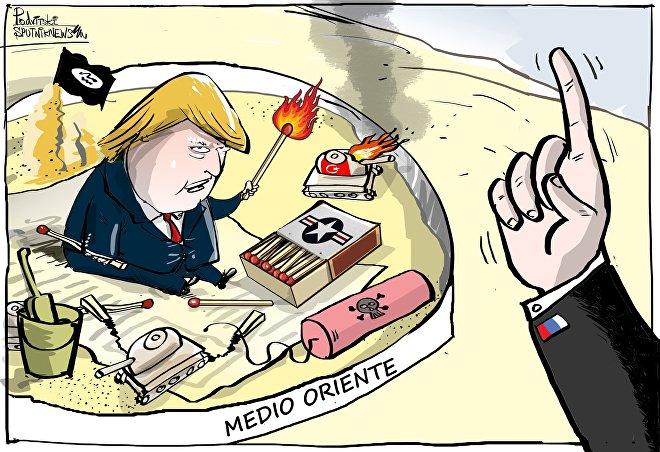 Situazione in Medio Oriente