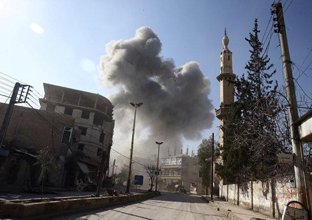 Gutha orientale, Siria