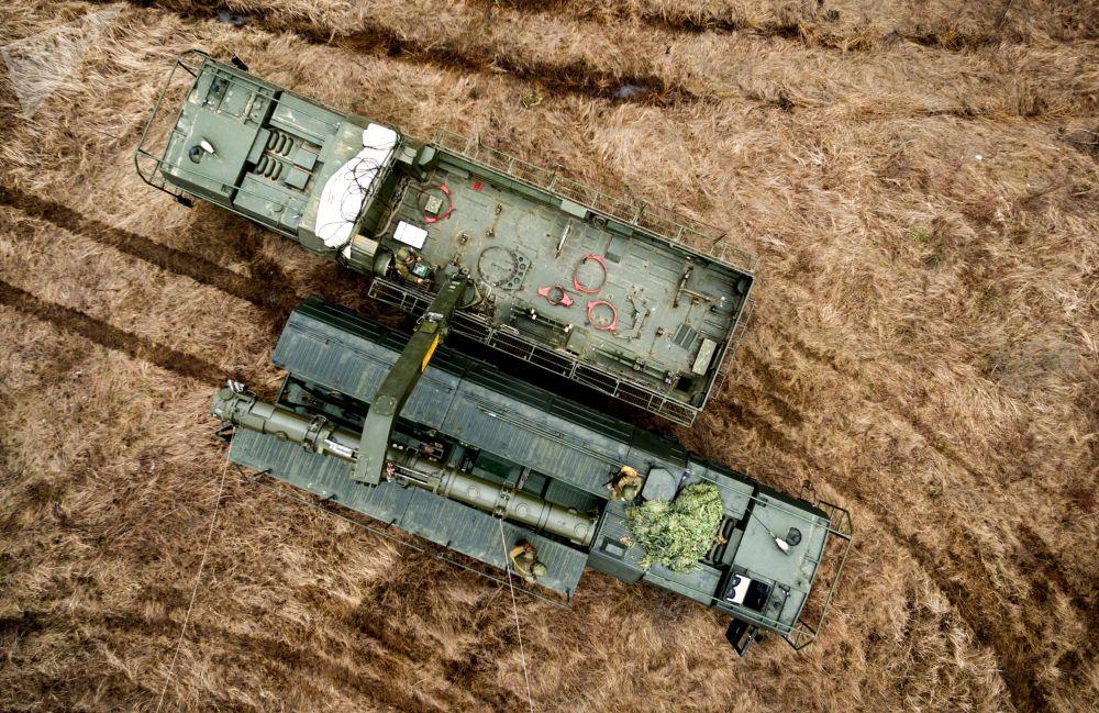 Iskander-K con i missili P-500