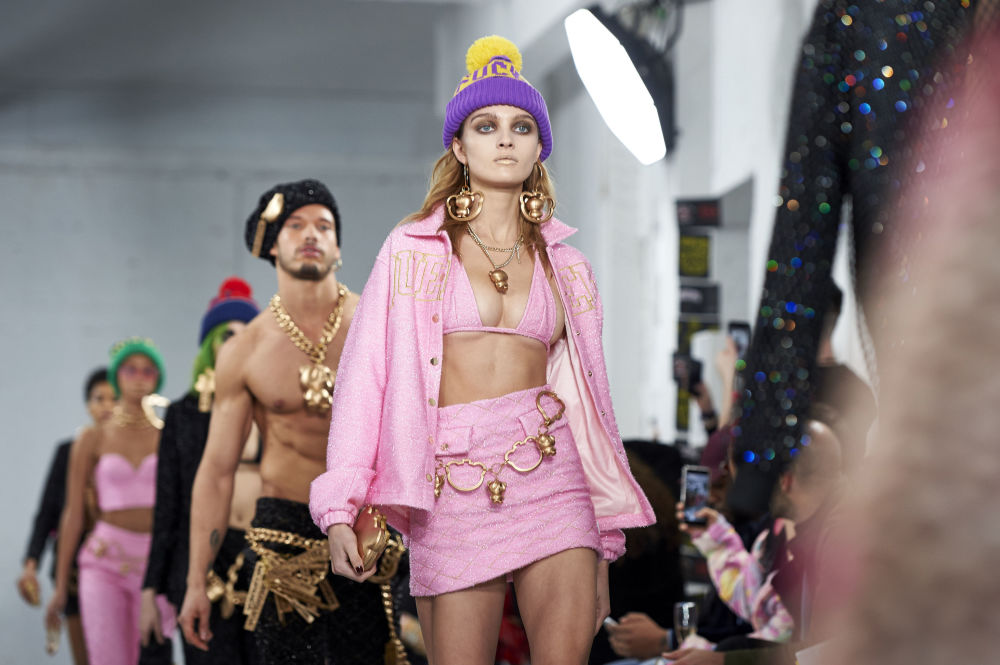 Modelle della Nicopanda alla London Fashion Week