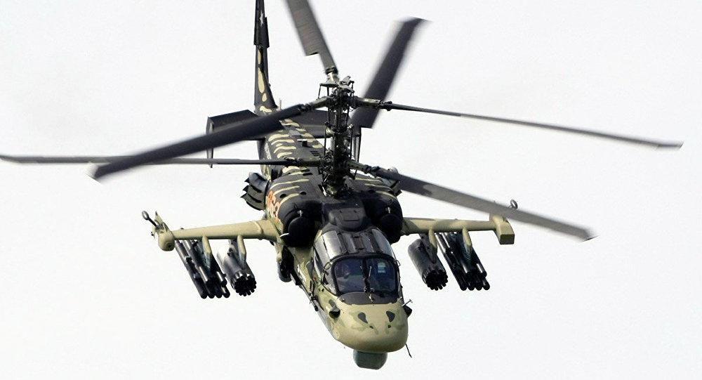 L'elicottero Kamov Ka-52 Alligator/Hokum B