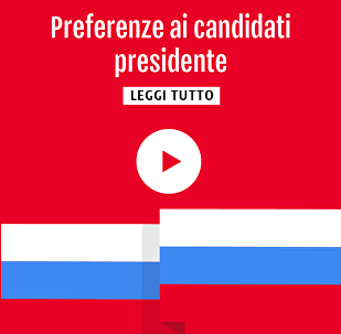 Preferenze ai candidati presidente