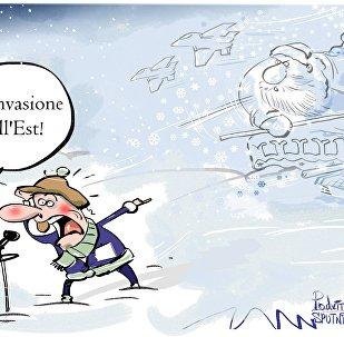 L'ondata di freddo in Europa proveniva dalla Siberia.