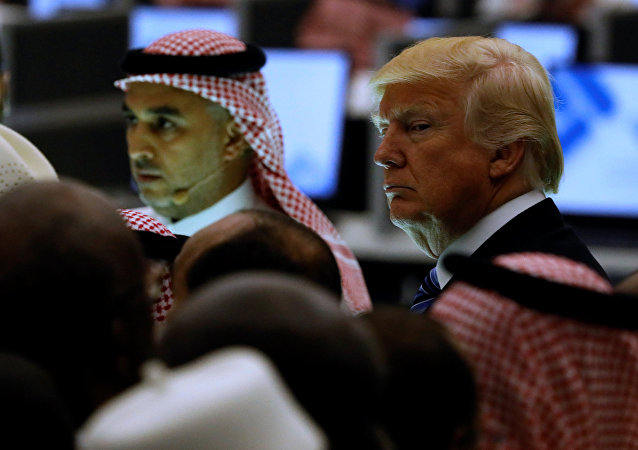 Il presidente USA Donald Trump in Arabia Saudita (foto d'archivio)