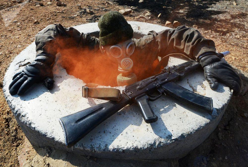 L'addestramento delle forze speciali di spionaggio dell'esercito russo