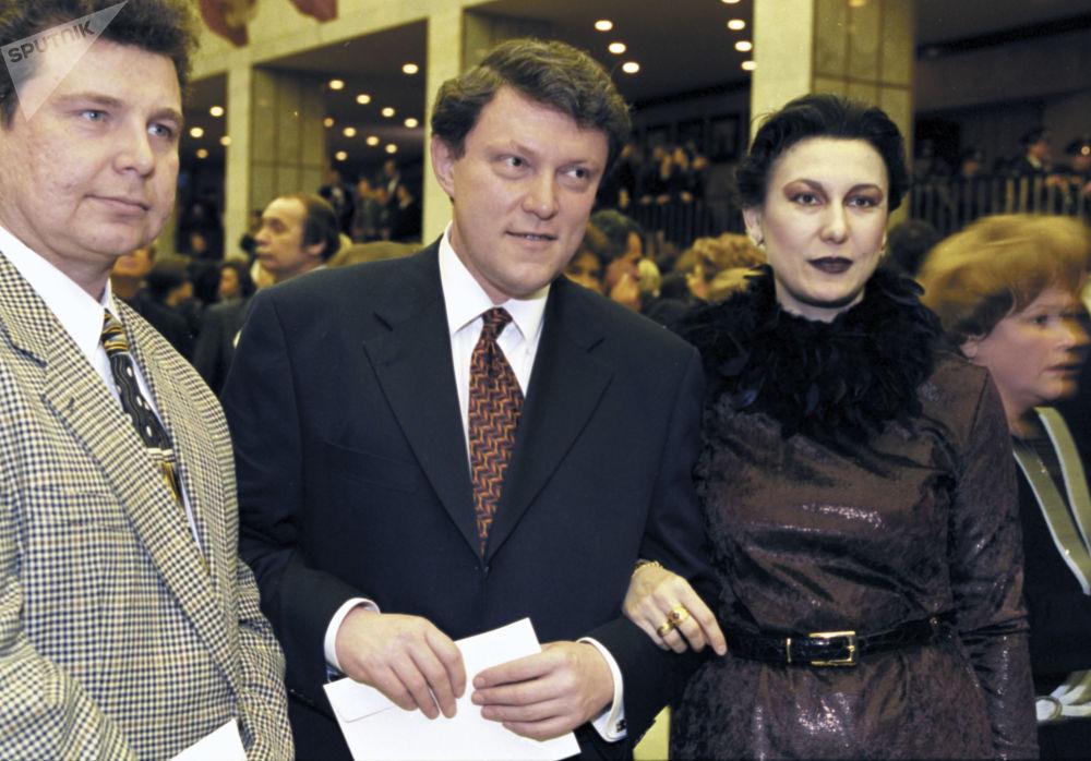 Grigoriy Yavlinskiy, candidato alle presidenziali 2018.