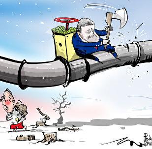Poroshenko esorta gli ucraini a usare meno gas