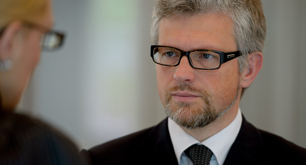 Ambasciatore ucraino in Germania Andriy Melnyk