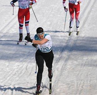 Anna Milenina alle Paralimpiadi 2018.