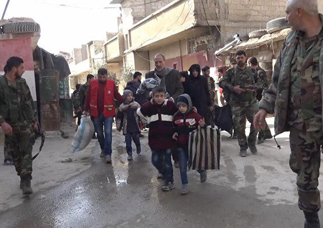 Oltre 300 salvati dal Ghouta