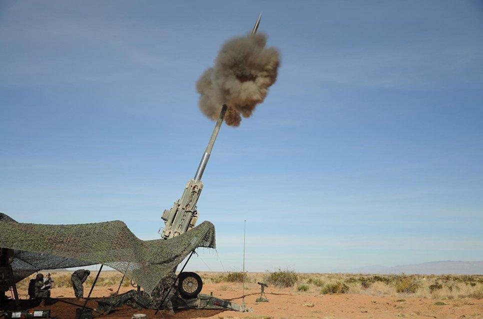 Il lancio del M982 Excalibur, USA