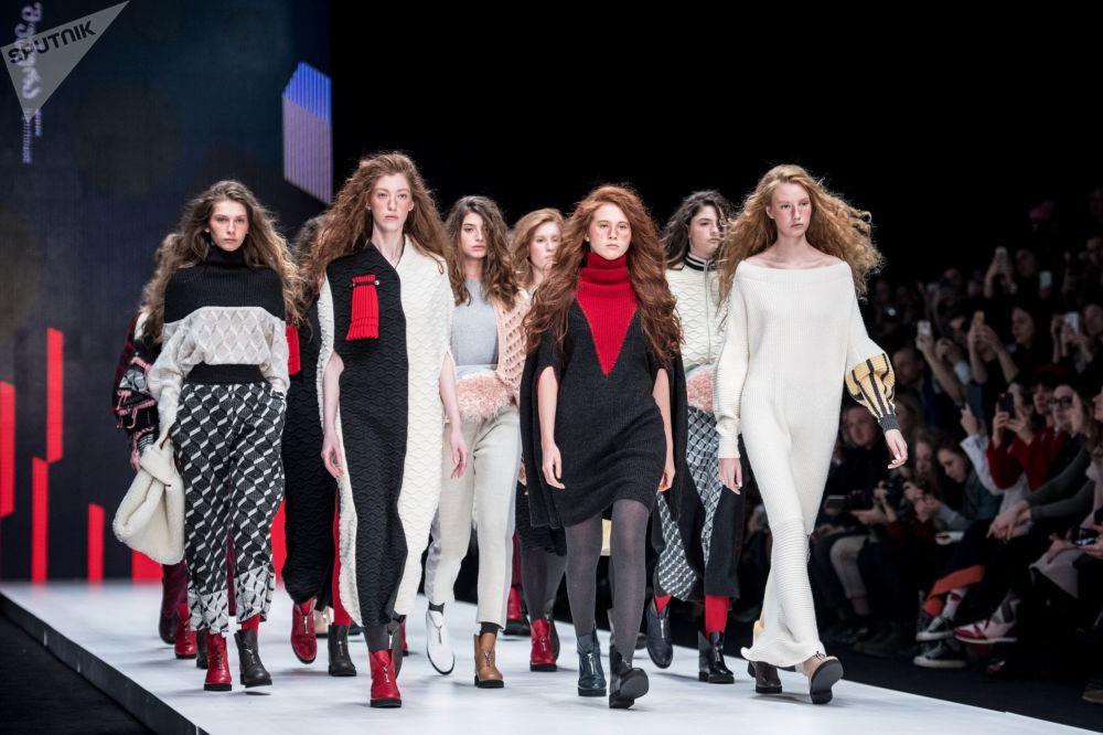 La settimana della moda di Mosca